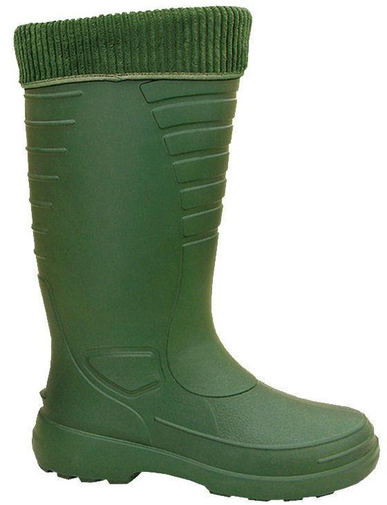 Gumijas zābaki Lemigo, zaļa, 43