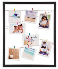 Victoria Collection Milano Polaroid Photo Frame 40x50cm Black
