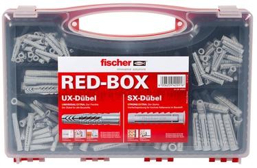 Fischer Dowel Set Box SX/UX 290pcs Grey