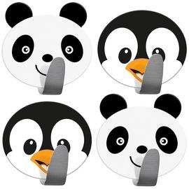 Āķis Tatkraft Pandas & Penguins, 55 mm x 55 mm