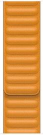 Apple Leather Strap Watch S 40mm California Poppy