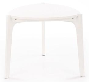 Журнальный столик Halmar Cerda White, 580x580x500 мм