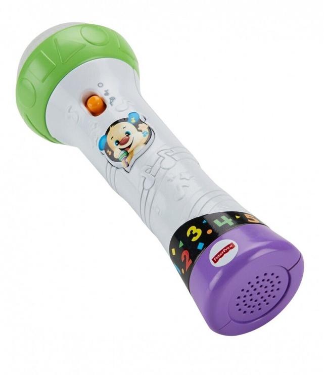 Interaktīva rotaļlieta Fisher Price Rock & Record Microphone
