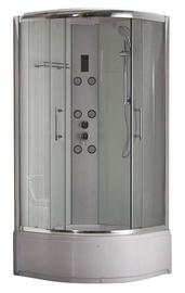Dušas kabīne Domoletti K-1872T, masāžas, pusapaļā, 900x900x2170 mm