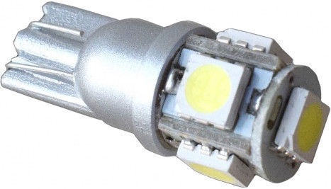 Bosma 5SMD-LED T10 24V Light Bulb