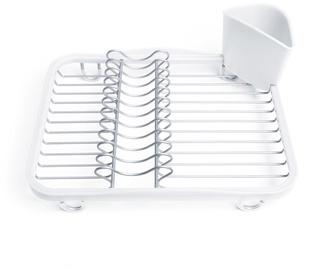 Trauku žāvētājs Umbra Sinkin Dish Dryer White