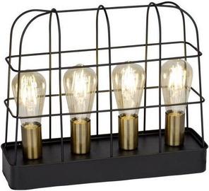 Brilliant Terneg Table Lamp 4x60W E27 Black/Brass