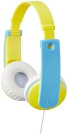 Austiņas JVC HA-KD7 Yellow/Blue
