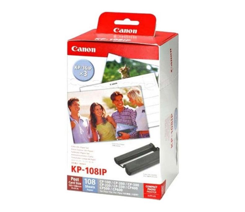 Кассета для принтера Canon KP-108IN COLOR / POSTCARD SIZE PHOTO PAPER