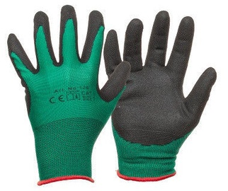 DD Nylon Knitted Gloves With Nitrile Coating 10