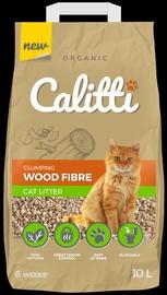 Kaķu pakaiši Calitti Clumping Wood Fibre Cat Litter 10l