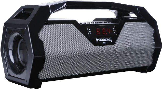 Bezvadu skaļrunis Rebeltec SoundBox 400 Black/White, 20 W