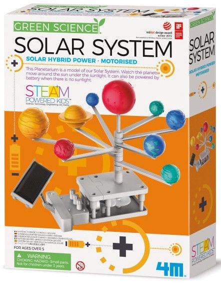 4M Green Science Motorised Solar System 03416