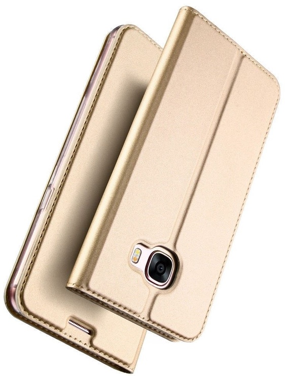 Dux Ducis Premium Magnet Case For Samsung Galaxy A8 Plus A730 Gold