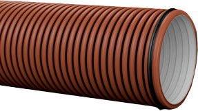 Pipelife Pragma Pipe Brown D300 3m