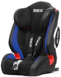 Mašīnas sēdeklis Sparco F1000KI Isofix Black/Blue, 9 - 36 kg