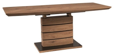 Signal Meble Leonardo Table 160-220cm Oak