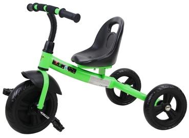 Трехколесный велосипед Bottari Cosmo 77810, черный/зеленый