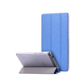 TakeMe Texture Eco-leather Book Case With Stand For Tablet PC Huawei MediaPad T3 7.0 Dark blue