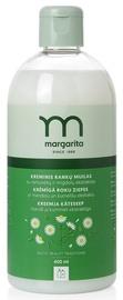 Кремовое мыло для рук MARGARITA с экстрактами миндаля и ромашки REFILL, 400 ml