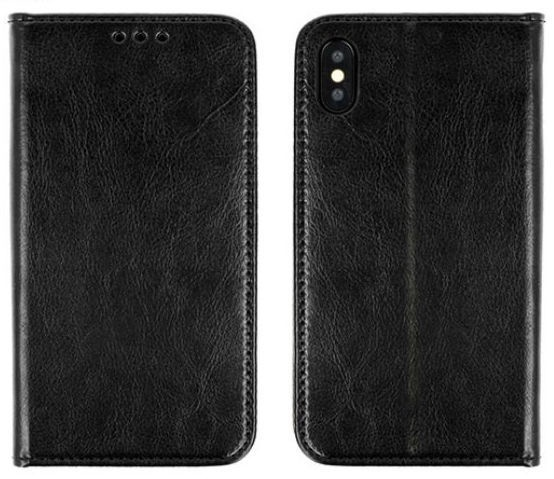 Mocco Special Leather Book Case For Samsung Galaxy S9 Plus Black