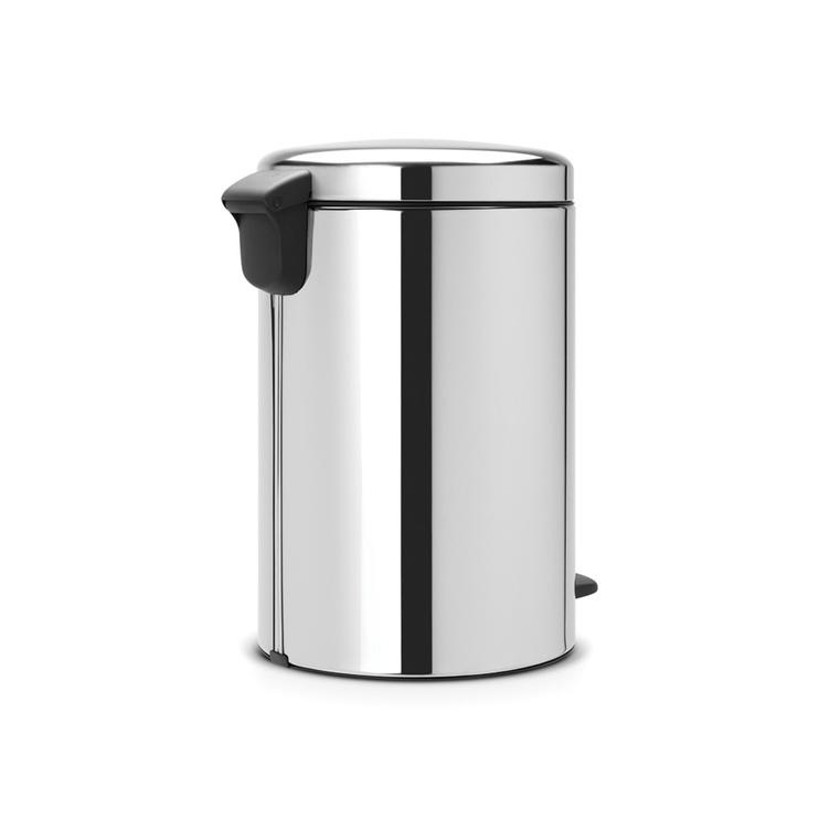 Brabantia NewIcon atkritumu tvertne, 20 l, Brilliant Steel
