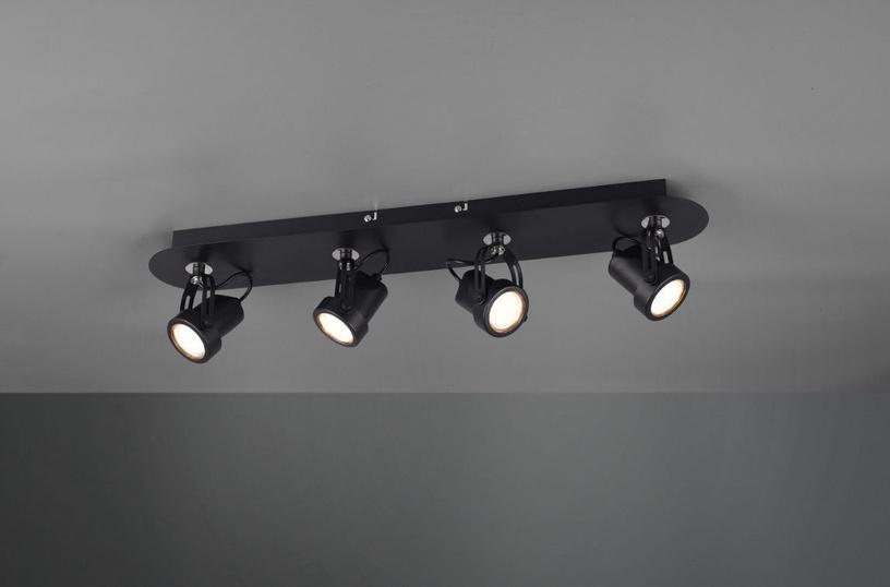 Gaismeklis Trio Goa Spot Ceiling Lamp 4xGU10 Black