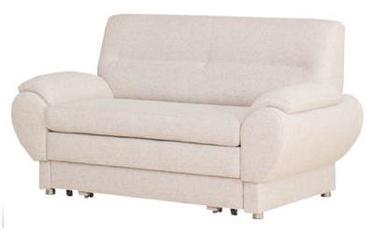 Диван-кровать Bodzio Livonia 2 Fabric Cream, 154 x 76 x 89 см
