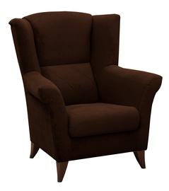 Atzveltnes krēsls Idzczak Meble Kent Brown, 94x75x105 cm