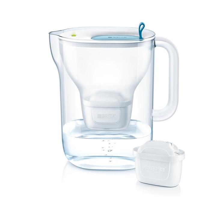 Ūdens filtrēšanas trauks BRITA Style XL 3.6L led, zils