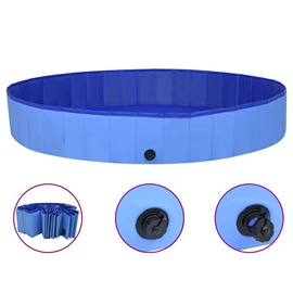 Бассейн VLX Dog Swimming Pool, синий/голубой