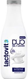 Лосьон для тела Lactovit Lacto Urea Nutritious Duo Gel + Lotion, 600 мл