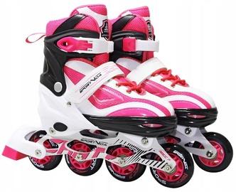 Ролики SportVida Inline, белый/розовый, 31-34