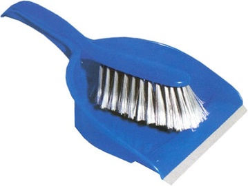 York 6205 Dust Pan With Rubber Lip And Brush 000050100740