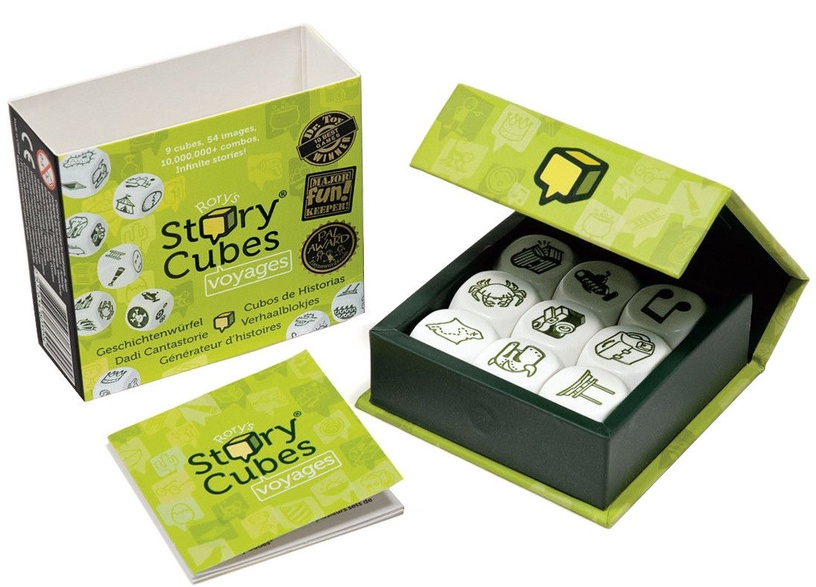 Brain Games Rory's Story Cubes Voyages