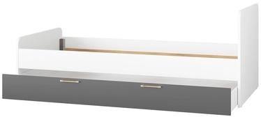 Bērnu gulta Signal Meble Picolo 11/13 White/Grey, 211x174 cm
