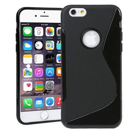 Telone Back S-Case Apple iPhone 6 Plus Silicone Black