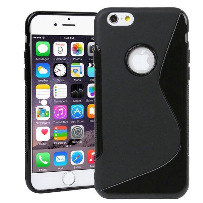 Telone Back S-Case Apple iPhone 6 Plus Silicone Black