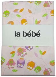 La Bebe Cotton Bed Set 106678 Pink Owl