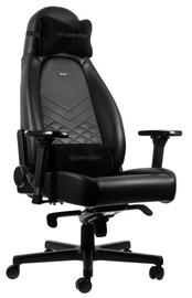 Spēļu krēsls Noblechairs ICON Pu Leather Black