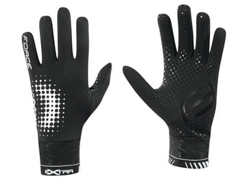 Force Extra Full Gloves Black M