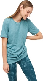 Audimas Light Dri-Release Tshirt Oil Blue S