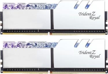 G.SKILL Trident Z Royal Silver 16GB 3000MHz CL16 DDR4 KIT OF 2 Series F4-3000C16D-16GTRS