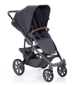 Универсальная коляска ABC Design Salsa 4 Stroller 2in1 Street, серый