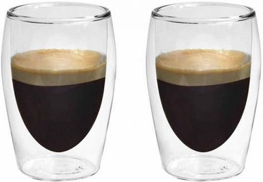 Boral Espresso Glasses With Double Walls L19008 2pcs