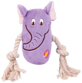 Rotaļlieta sunim Trixie Plush Animals, 4 gab., 13 cm