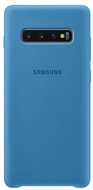 Samsung Silicone Back Case For Samsung Galaxy S10 Plus Blue