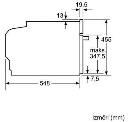 Духовой шкаф Bosch CDG634BS1