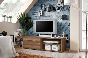 TV galds ASM Bono I Plum, 1200x450x350 mm