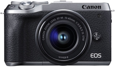 Canon EOS M6 Mark II + 15-45 IS STM Silver